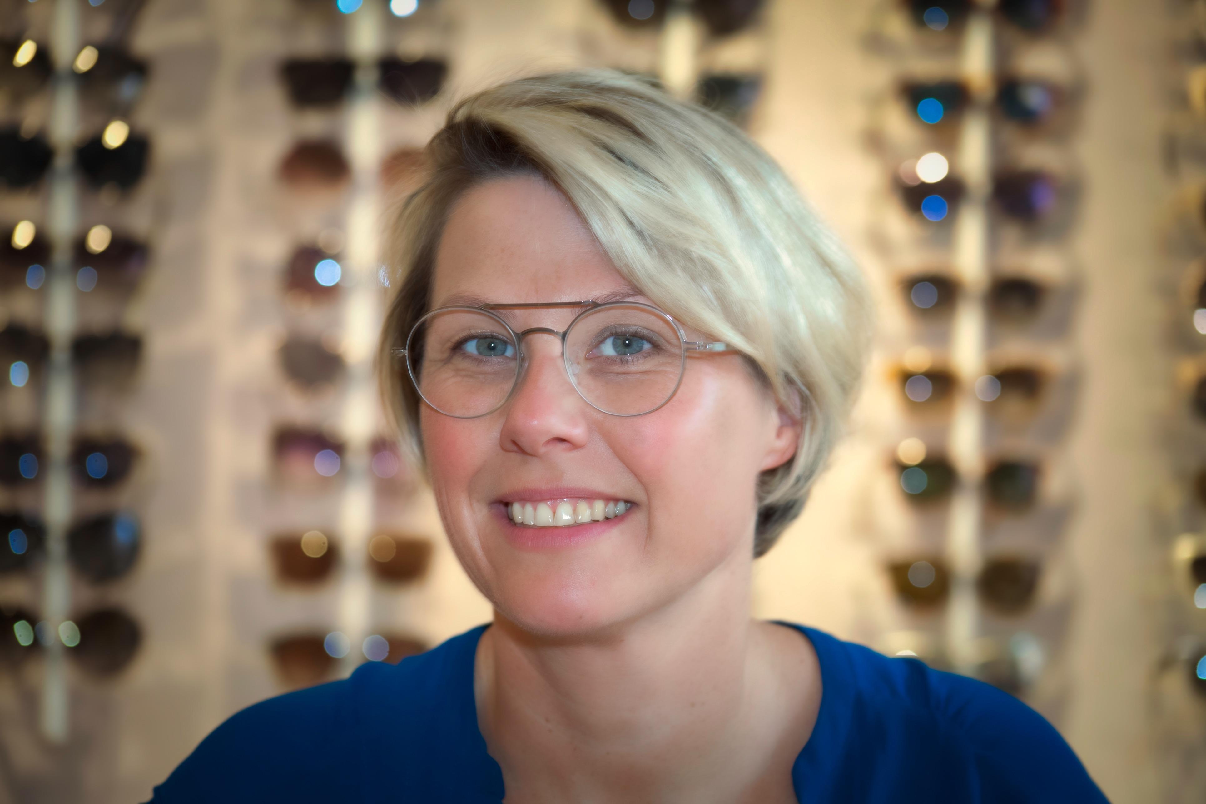 Claudia Schicker | M.Sc. of Optometrie